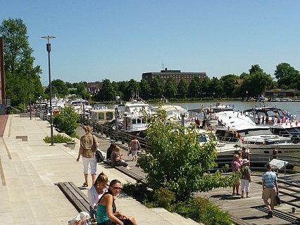 Hafen Leer Ostfriesland Norddeutschland