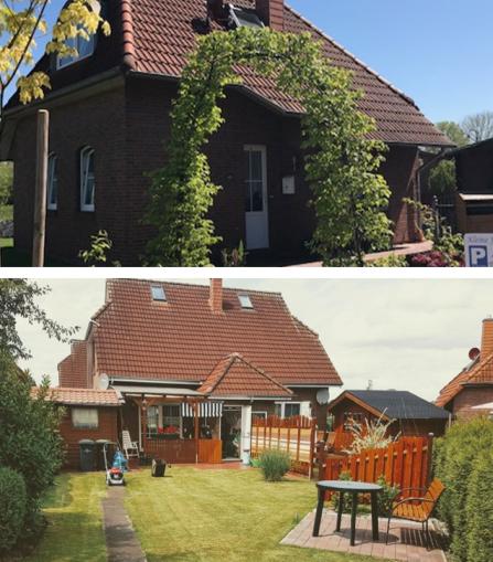Die Ferienhäuser Kleine Friesenkate & Haus 1A in Timmel