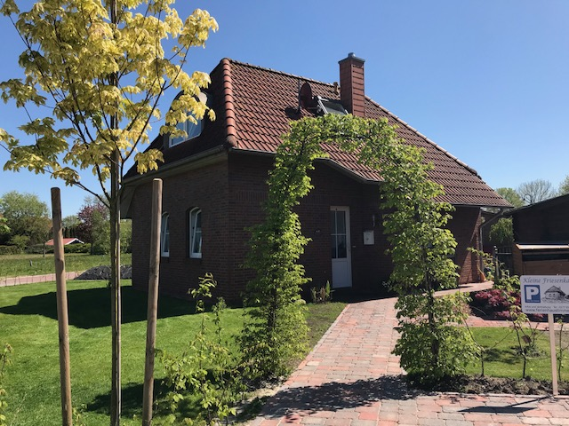 Das Ferienhaus kleine Friesenkate in Timmel