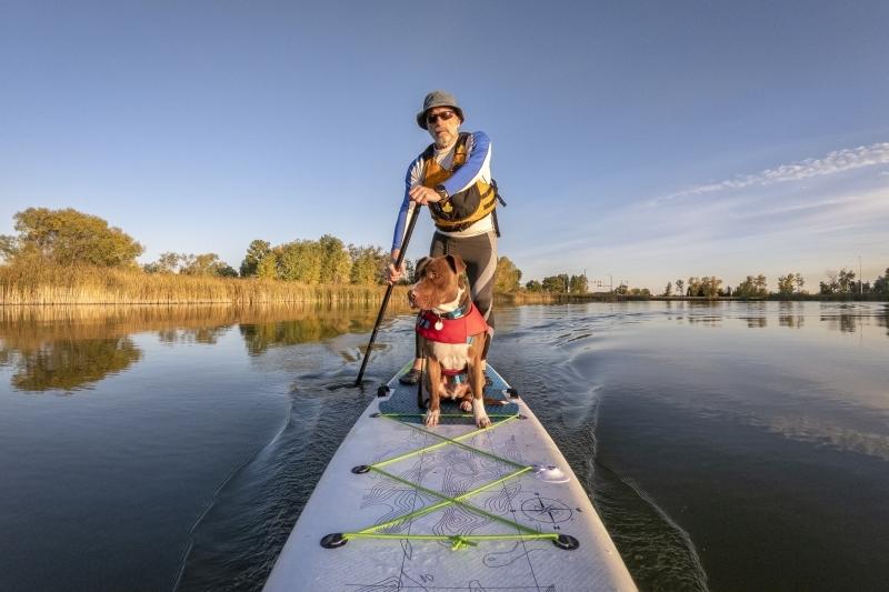 stand up paddling timmel